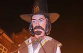Cliffe Bonfire Society Effigy